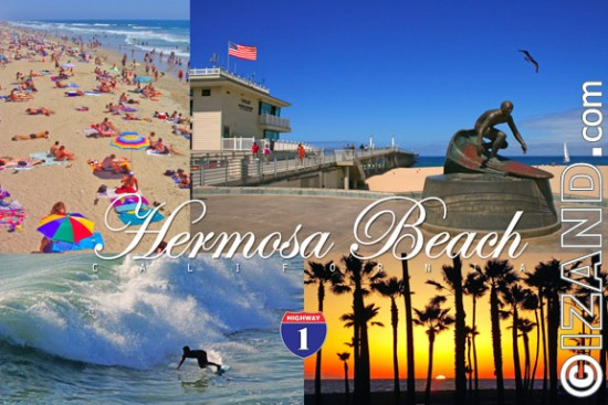 HERMOSA BEACH POSTCARDS