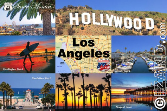 LOS ANGELES POSTCARDS