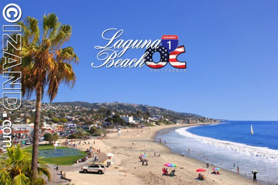 LAGUNA BEACH POSTCARDS