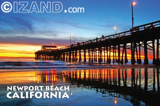 NEWPORT BEACH POSTCARDS