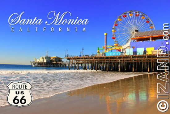 SANTA MONICA POSTCARDS